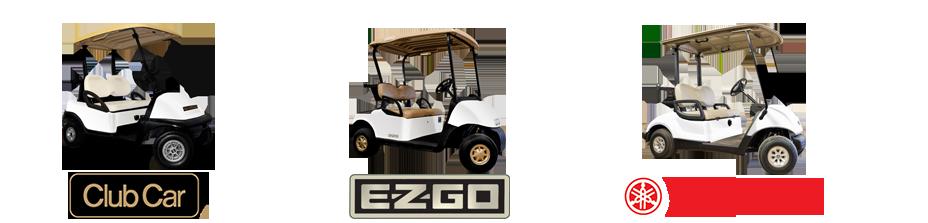 club car precedent customized golf cart