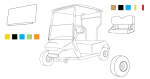 build your custom golf cart blueprint