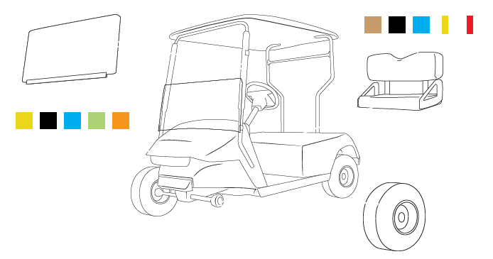 Build Your Own Golf Cart Kit >> Custom EZGO RXV | Build Your Golf Cart Software
