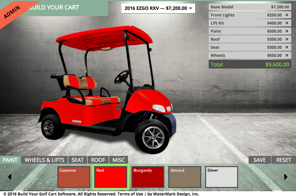 EZGO RXV   Build Your Golf Cart   Available With Customization Red Lifted Golf Cart Burgandy on red ezgo golf cart, red dot enclosures golf cart, lifted ezgo golf cart, car wheels on lifted golf cart, red custom golf cart, red chevy golf cart, super lifted golf cart, red golf cart illustration, lifted yamaha golf cart, red jack up golf carts,