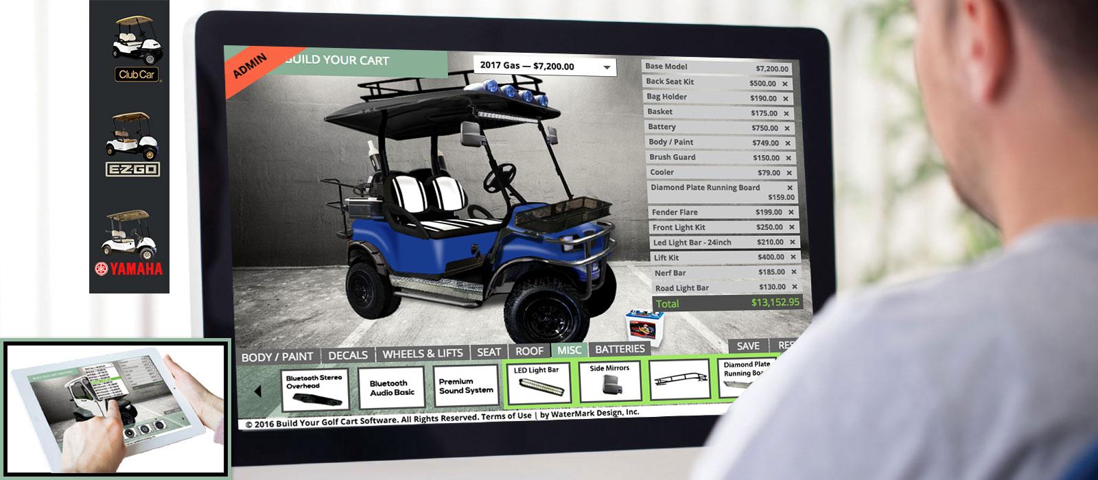 build-your-golf-cart-online-computer-v2 Online Form Builder Business on