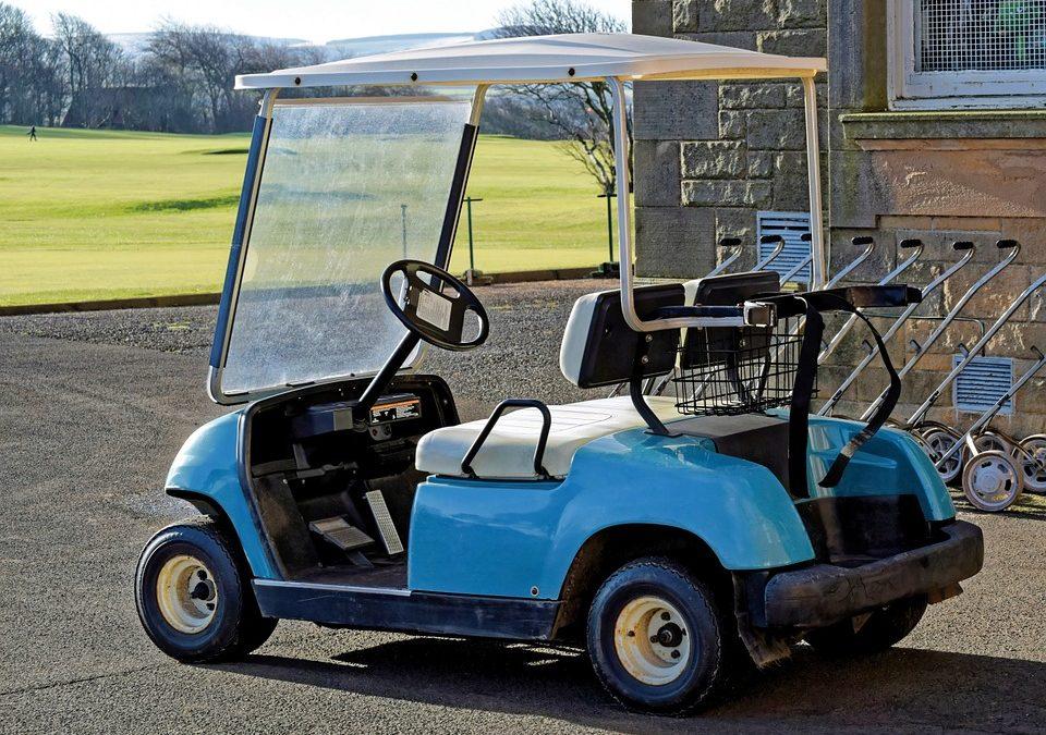 Custom Madjax Golf Cart