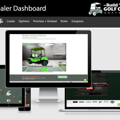 website cart builder software