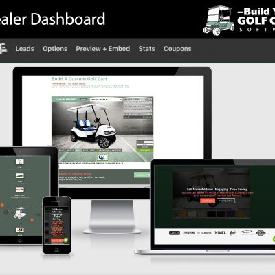 website club cart builder software