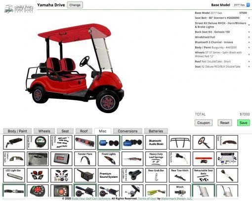 build a golf cart yamaha