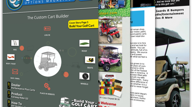 Build Your Golf Cart Featured In Golf Cart Options Magazine