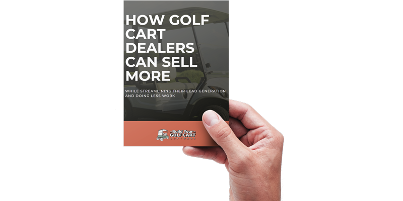 how golf cart dealers can sell more